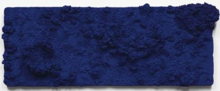 Yves Klein-Accord Bleu (RE 52)-1958