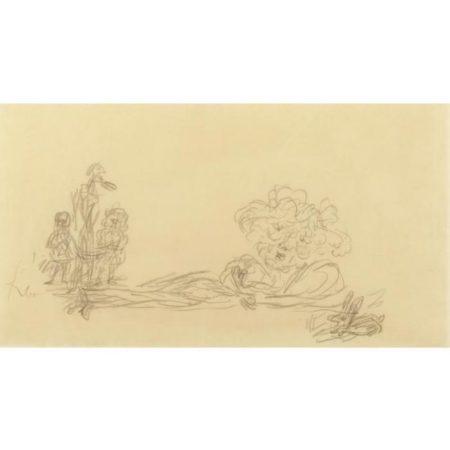 Paul Klee-Besuch Der Erben (Visit Of The Heirs)-1933