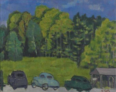 Alex Katz-Untitled-1954