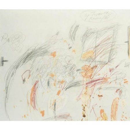 Cy Twombly-Rome-1961