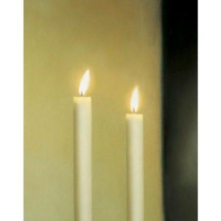 Gerhard Richter-Zwei Kerzen (546-1) / Two Candles (546-1)-1983
