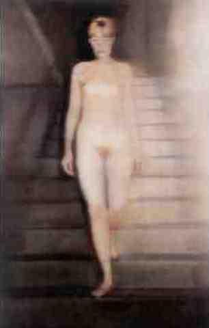 Gerhard Richter-Emma, Akt auf Einer Treppe (Ema, Nude on a Staircase)-1992