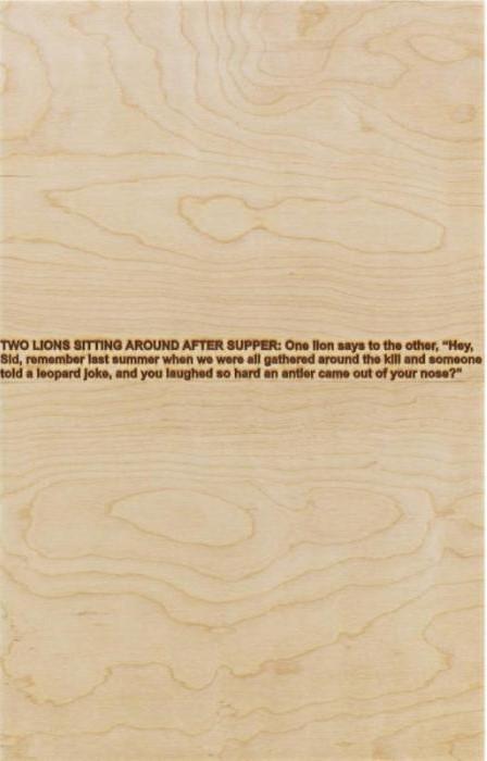 Richard Prince-Two Lions-2007