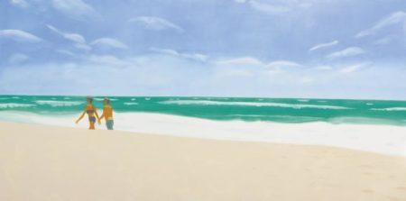 Alex Katz-Playa de Carmen-2000