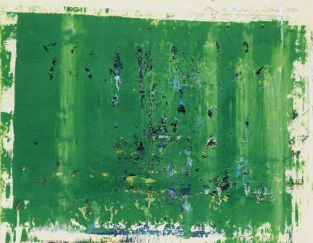 Gerhard Richter-Park (5.5.90)-1990