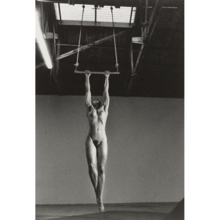 Helmut Newton-Lisa Lyon At Home-1981