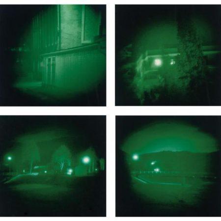 Thomas Ruff-Nacht Series: Nacht 5I; Nacht 14I; Nacht 14III; Nacht 18I-1992
