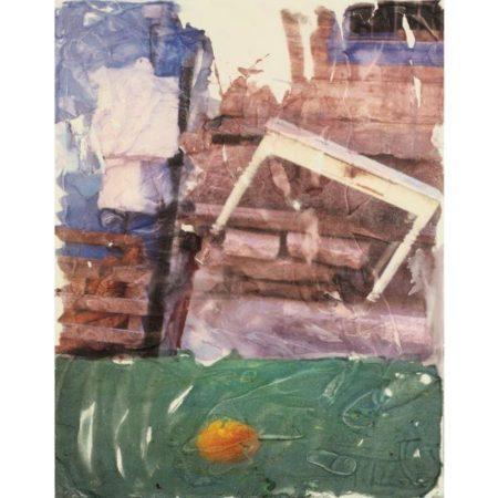 Robert Rauschenberg-Robert Rauschenberg - Orange Float (Anagram)-1996