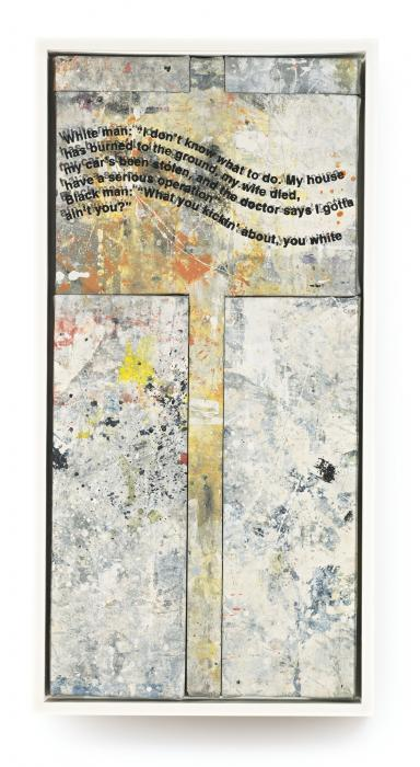 Richard Prince-Untitled (Protest Painting)-1994