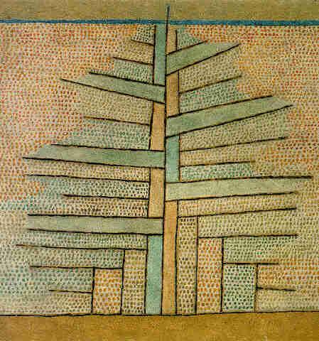 Paul Klee-Einsame Tanne-1932