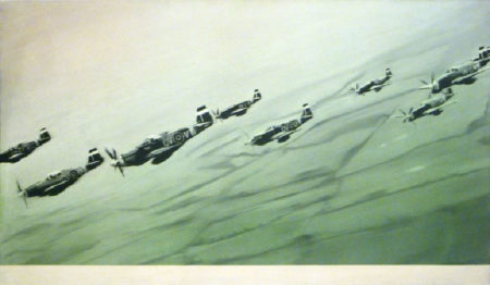 Gerhard Richter-Mustang-Staffel (Mustang Squadron)-1964