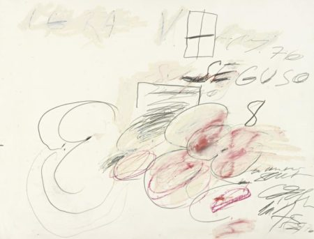Cy Twombly-Seguso-1976