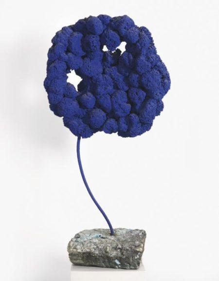 Yves Klein-Sculpture Eponge Bleue Sans Titre, Se 168-1959