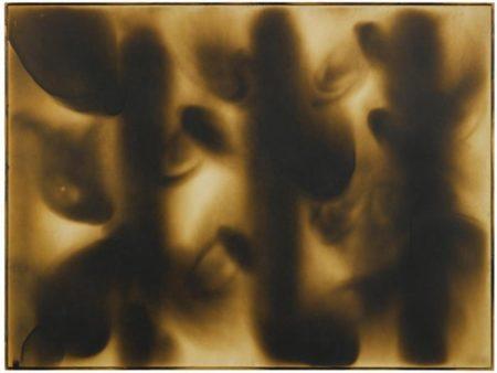 Yves Klein-Peinture De Feu Sans Titre (F 5)-1961