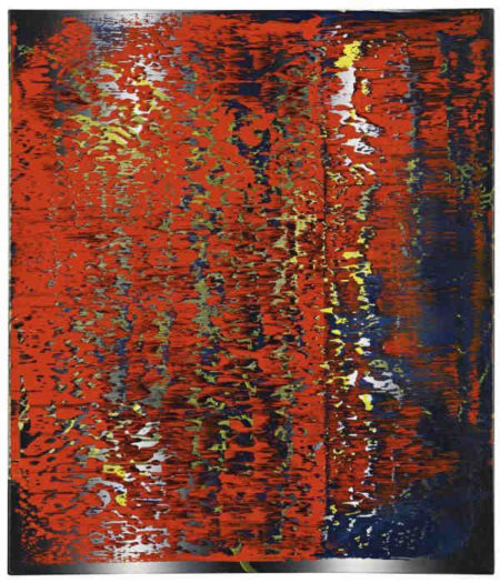 Gerhard Richter-Abstraktes Bild 682-3 (Abstract Painting 682-3)-1988