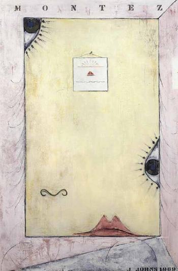 Jasper Johns-Montez Singing-1989