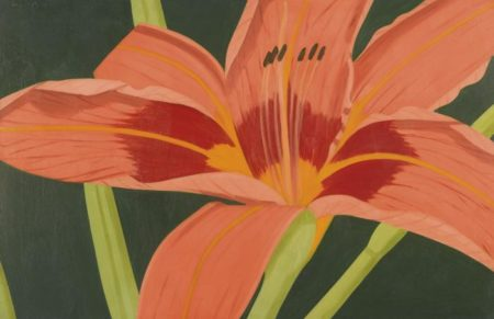 Alex Katz-Tiger Lily-1968