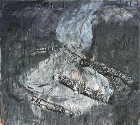 Anselm Kiefer-Die Drei Normen: Urd, Werdandi, Skuld (The Three Fates: Urd, Werdandi, Skuld)-1981