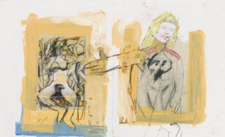 Richard Prince-Untitled (With De Kooning)-2005