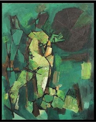 Maqbool Fida Husain-Untitled-1959