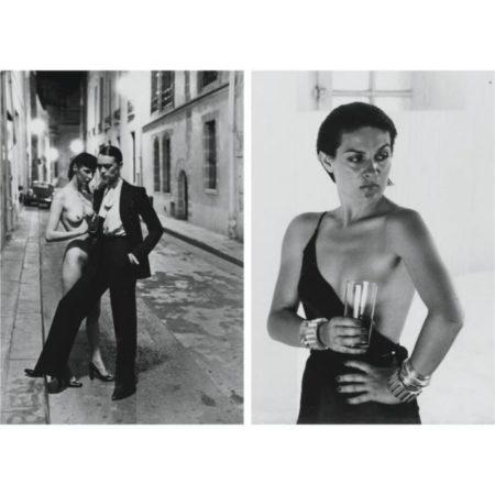 Helmut Newton-Paloma Picasso; Rue Aubriot, Paris-1975