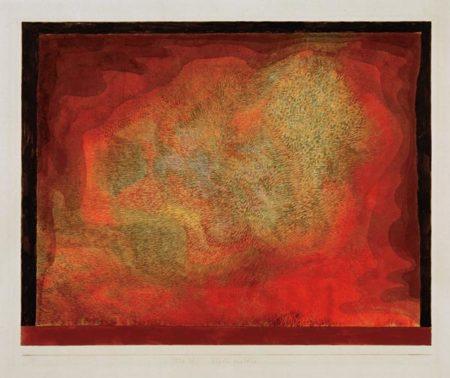 Paul Klee-Hohlen Ausblick-1929