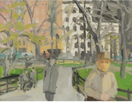 Alex Katz-Madison Square Park-1964
