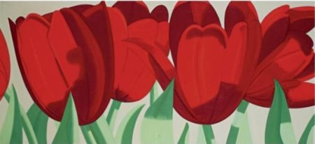 Alex Katz-Red Tulips-1967