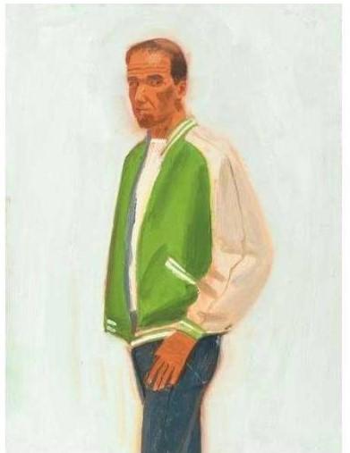 Alex Katz-Track Jacket / Untitled-1989