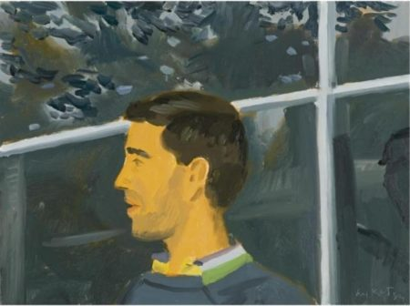 Alex Katz-Study for Vincent with Beard-1984
