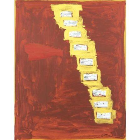 Richard Prince-Check Painting # 5-2004