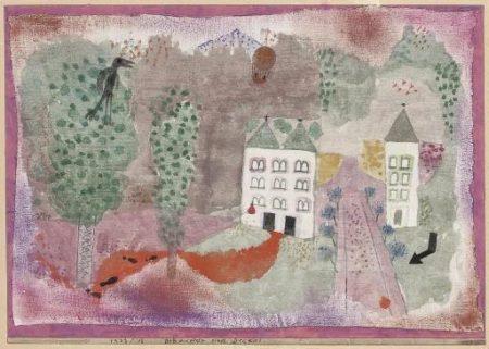Paul Klee-Schauplatz Eines Dramas-1923