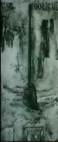 Jasper Johns-Fool's House Black State-1972