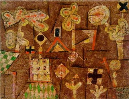 Paul Klee-Lebkuchenbild-1925