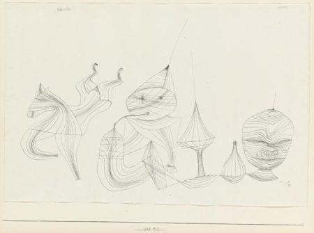 Paul Klee-Obertone (Overtones)-1928