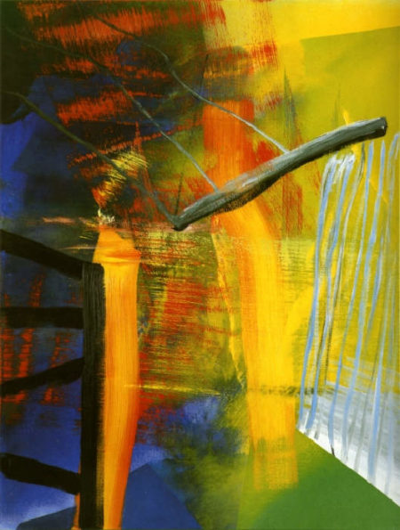 Gerhard Richter-Abstraktes Bild 552-2 (Abstract Painting 552-2)-1984