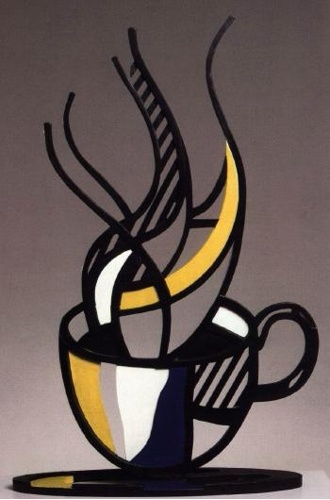 Roy Lichtenstein-Cup and Saucer I-1976