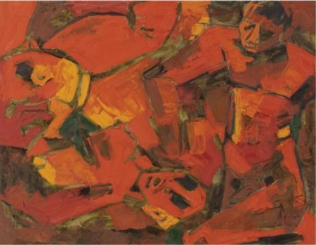 Maqbool Fida Husain-Untitled-1968