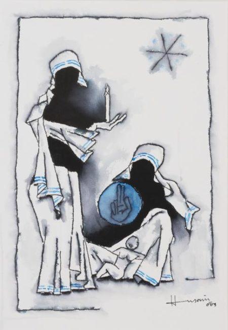 Maqbool Fida Husain-Untitled-2003