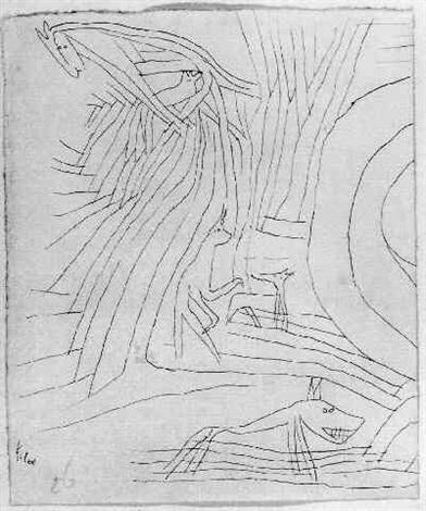 Paul Klee-Berg Tiere-1926