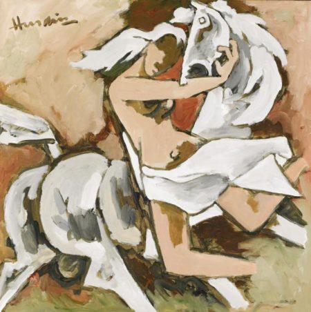 Maqbool Fida Husain-Untitled-1998
