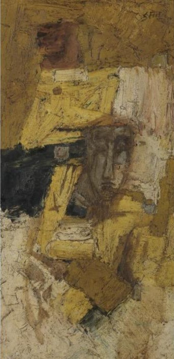 Maqbool Fida Husain-The Mirage-