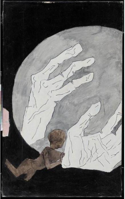 Maqbool Fida Husain-Hands-