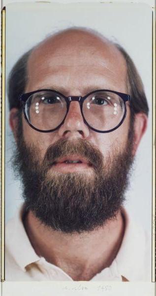 Chuck Close-Self Portrait-1980