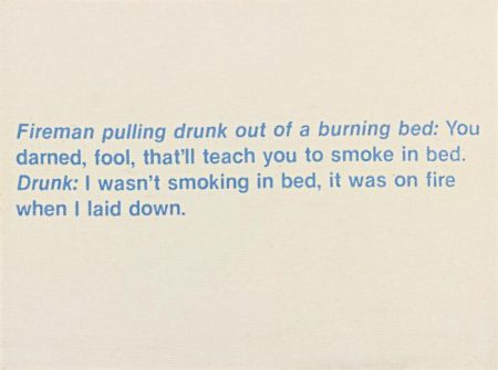 Richard Prince-Untitled (Fireman Joke)-1987