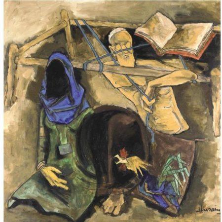 Maqbool Fida Husain-Earth-