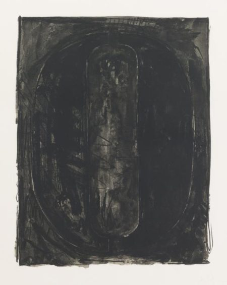 Figure 0, from Black Numeral Series-1968
