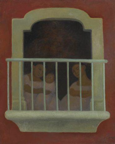 Diego Rivera-El Balcon-1921