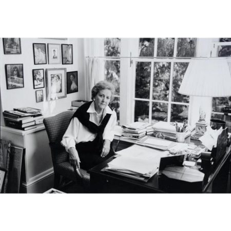 Annie Leibovitz-Katharine Graham at her Georgetown House (Selected Photographs)-1996