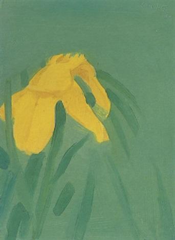 Alex Katz-Yellow Flag-1986